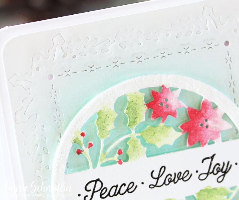 Peace Love Joy (detail) by Laurie Schmidlin