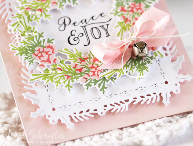Peace & Joy (detail 2) by Laurie Schmidlin