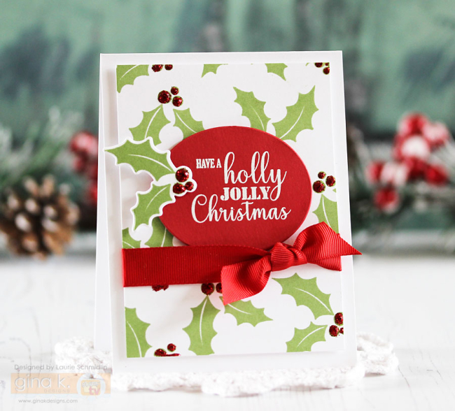 Holly Jolly Christmas by Laurie Schmidlin