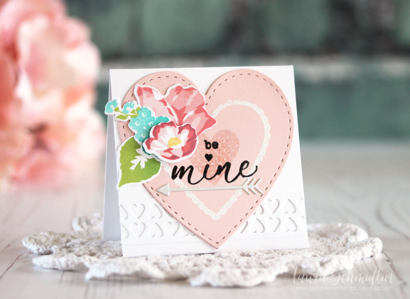 Be Mine Card Trio 1 by Laurie Schmidlin