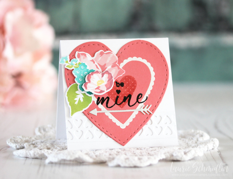 Be Mine Card Trio 3 by Laurie Schmidlin