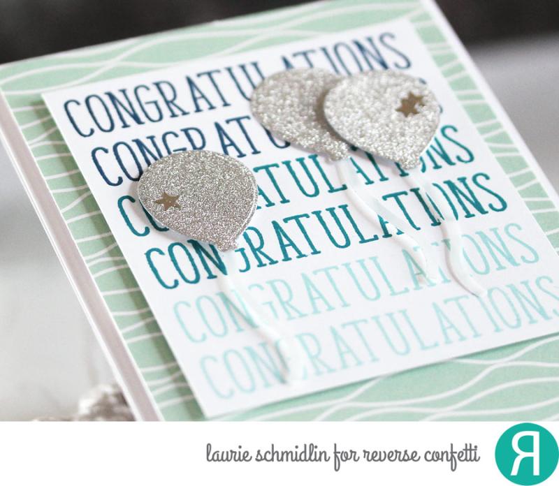 Congratulations (detail) by Laurie Schmidlin