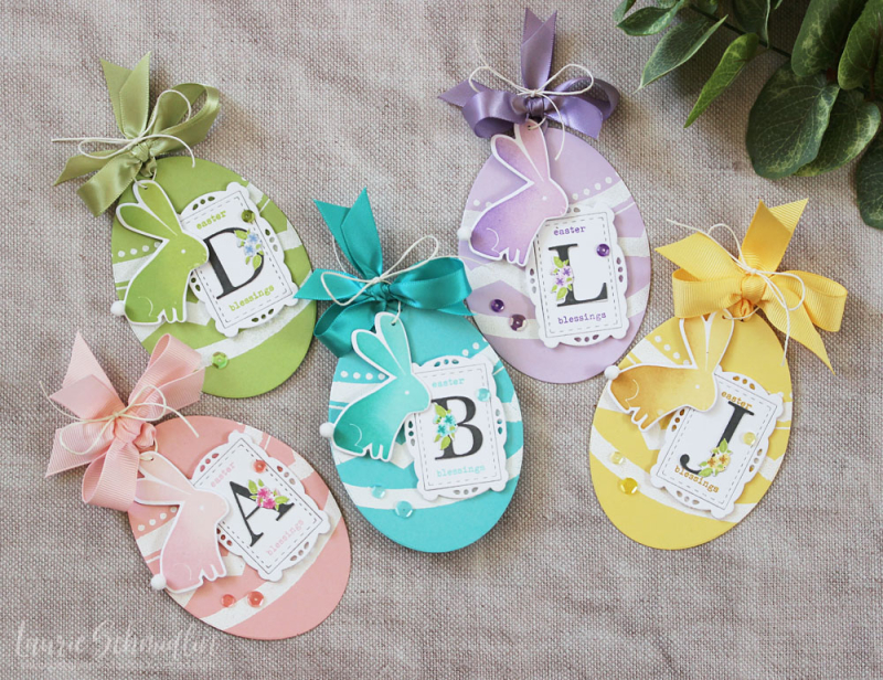Easter Tags by Laurie Schmidlin