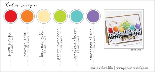 11th Anniversary Color Challenge - Laurie