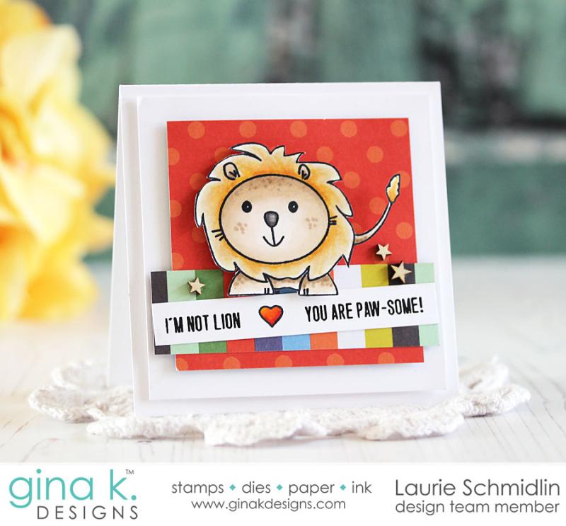Liam Lion by Laurie Schmidlin