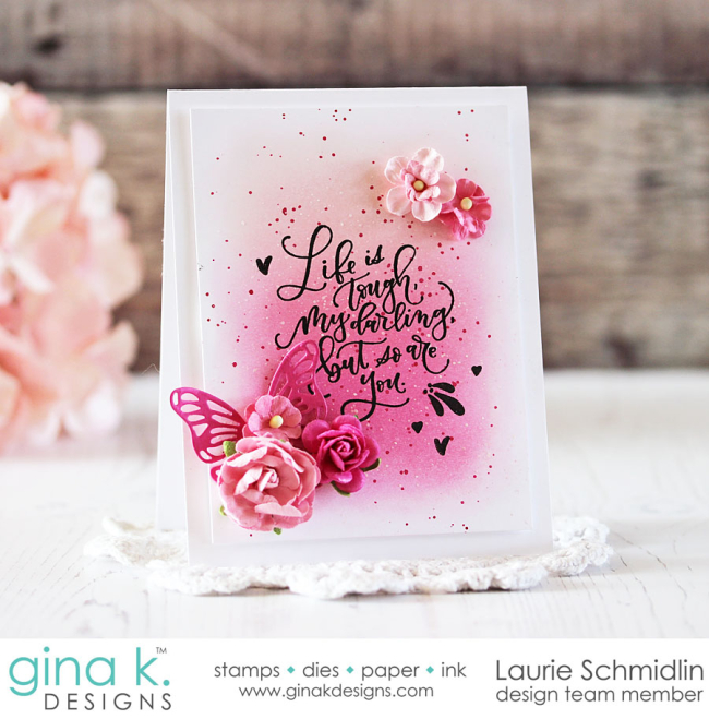 Lettered and Lovely by Laurie Schmidlin