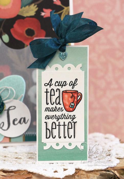 Tea (Detail) by Laurie Schmidlin