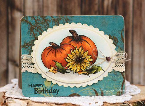 Autumn Birthday by Laurie Schmidlin