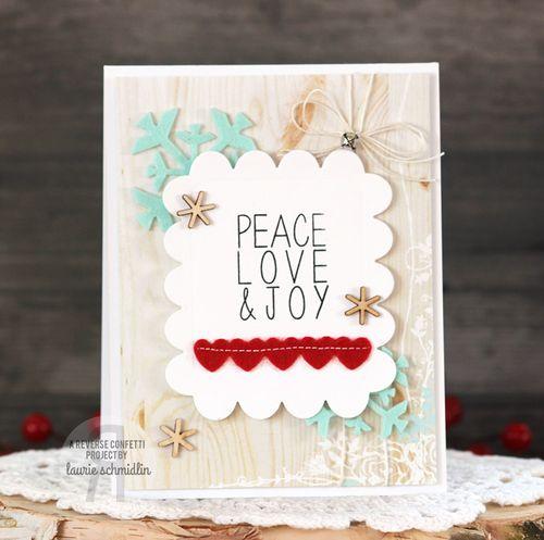 Peace, Love, & Joy by Laurie Schmidlin