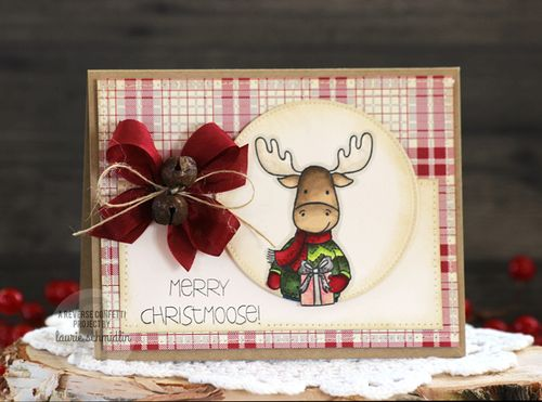Merry Christmoose by Laurie Schmidlin