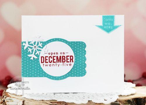 Dec 25th (envelope) by Laurie Schmidlin