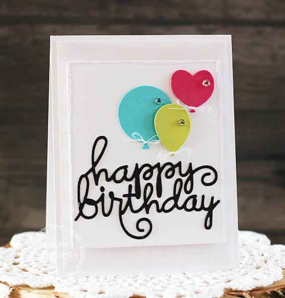 Laurie - Happy Birthday Word Die