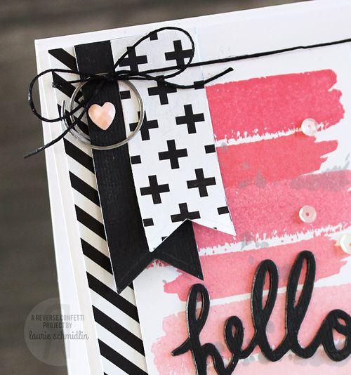 SFYTT Hello (Detail) by Laurie Schmidlin