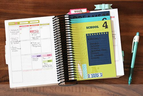 School Planner Lists1 by Laurie Schmidlin