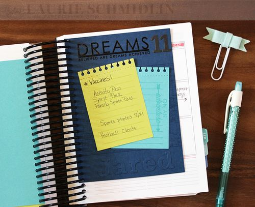 School Planner Lists4 by Laurie Schmidlin
