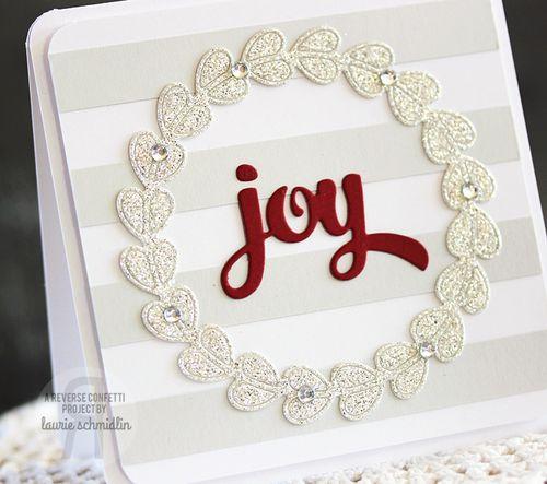 Joyful Wreath (Detail) by Laurie Schmidlin