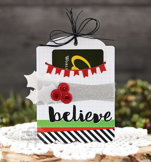 Believe Gift Card Holder by Laurie Schmidlin