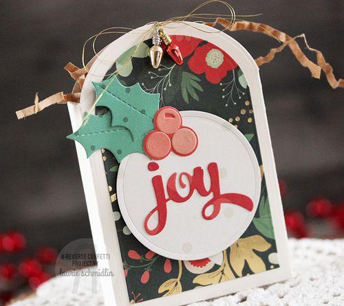 Joy Gift Bag (Detail) by Laurie Schmidlin