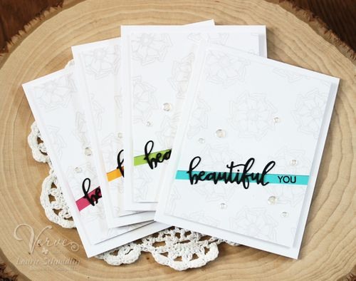 Beautiful You Card Set by Laurie Schmidlin