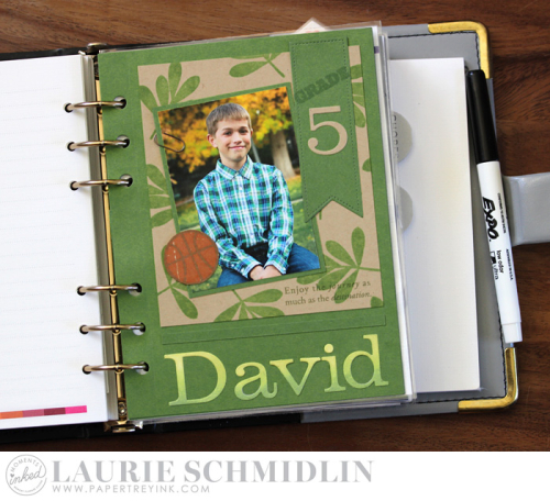 School Dashboard - David by Laurie Schmidlin