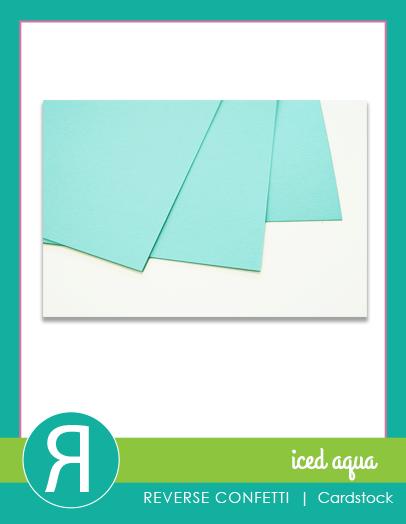 CardstockIcedAquaProductGraphic