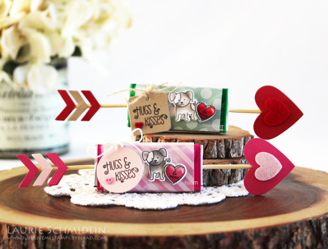 Hugs & Kisses Valentine's Gifts by Laurie Schmidlin