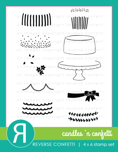 CandlesNConfettiStampsProductGraphic