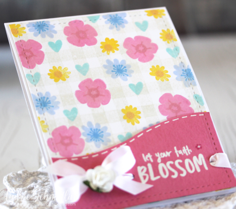 Faith Blossom (detail) by Laurie Schmidlin