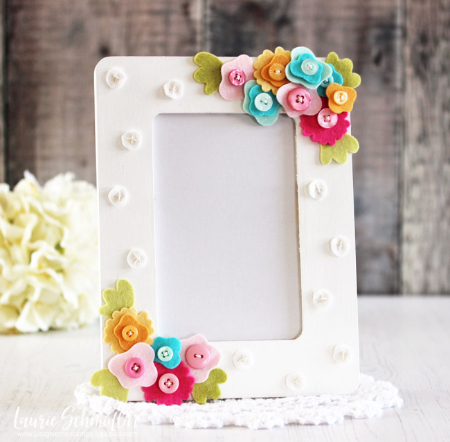 Handmade Photo Frame by Laurie Schmidlin