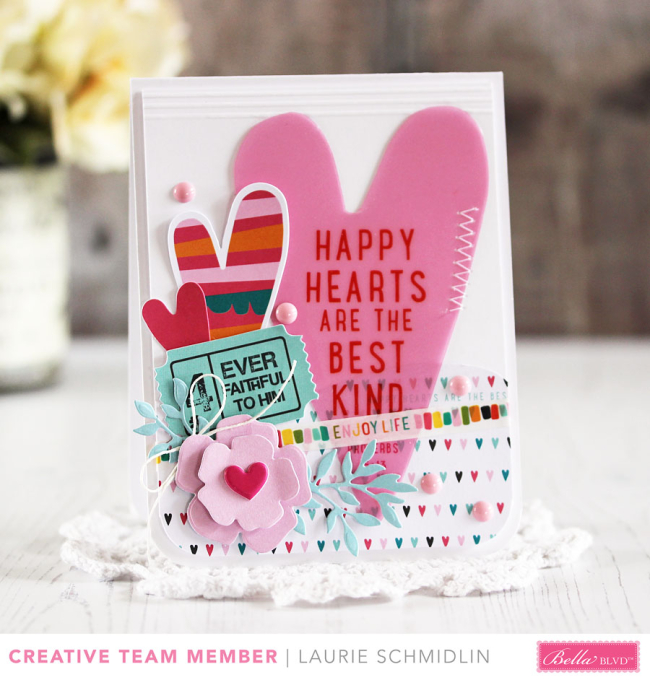 Happy Hearts by Laurie Schmidlin
