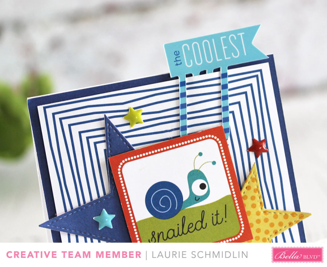 Snailed It! (detail) by Laurie Schmidlin