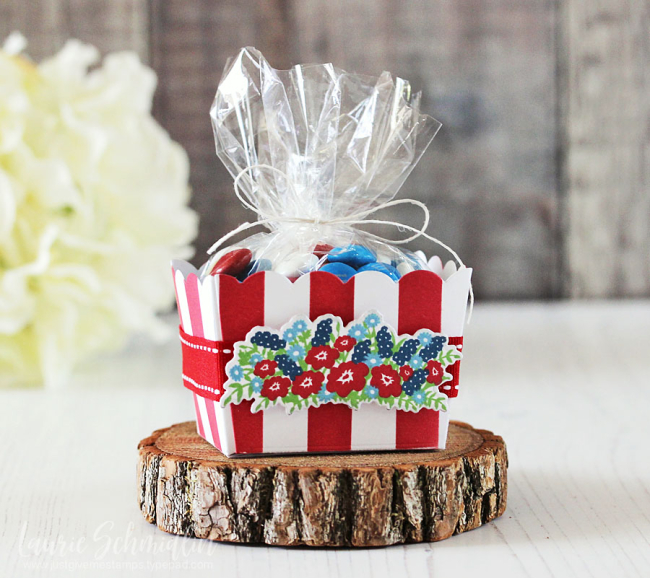 Patriotic Gift Basket by Laurie Schmidlin