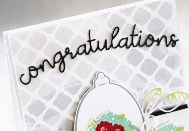 Congratulations (detail 1) by Laurie Schmidlin