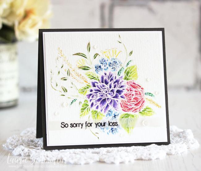 Altenew--Blooming Bouquet-Laurie Schmidlin