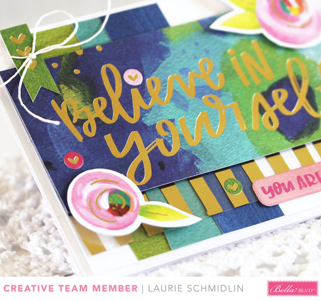 You Are Enough (detail) by Laurie Schmidlin