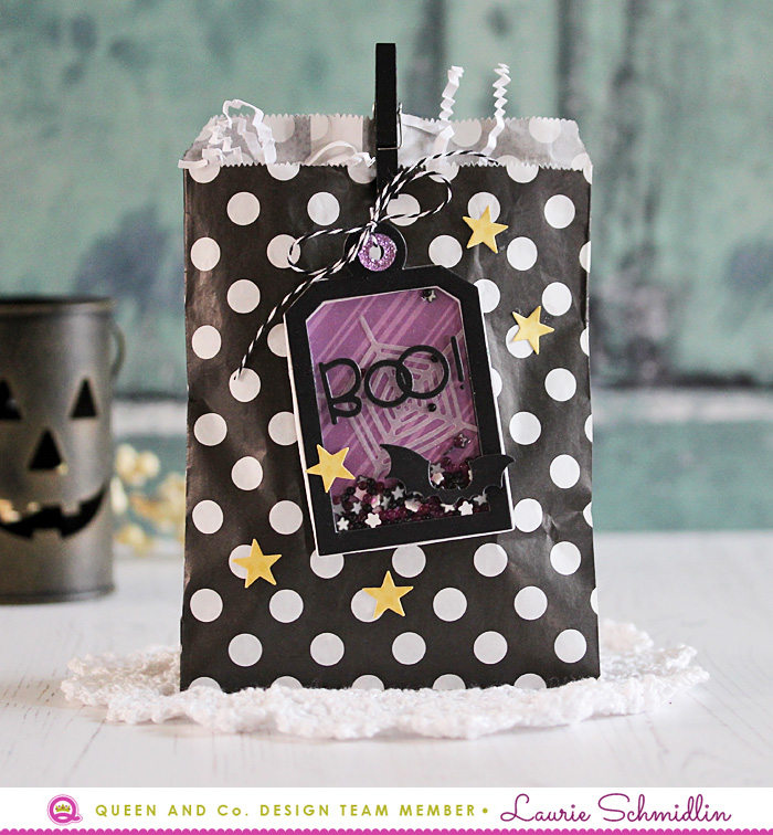 Boo! Gift Bag by Laurie Schmidlin