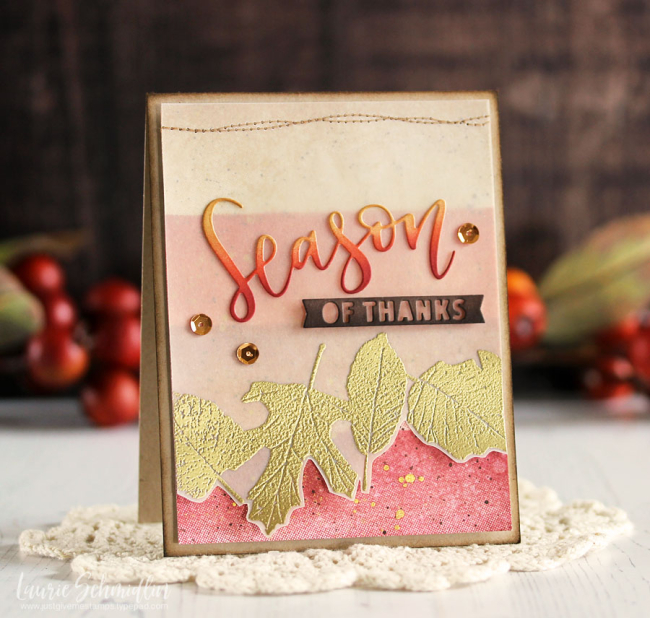 Season of Thanks by Laurie Schmidlin