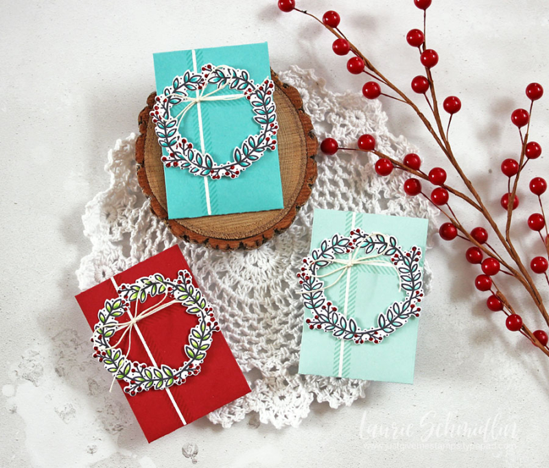 Gift Card Trio by Laurie Schmidlin
