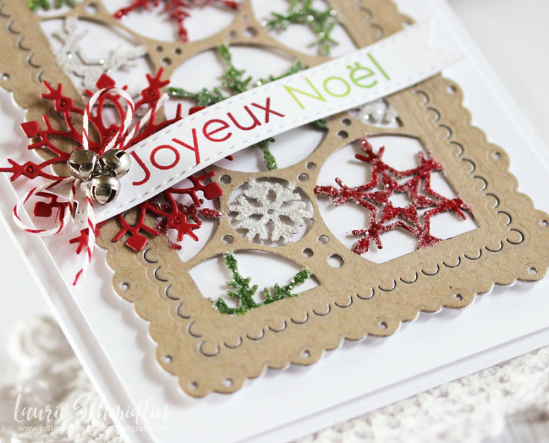 Joyeux Noel (detail 2) by Laurie Schmidlin
