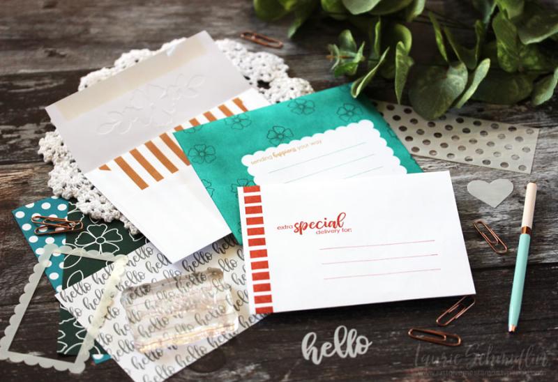 Envelope Envy Sneak Peek by Laurie Schmidlin