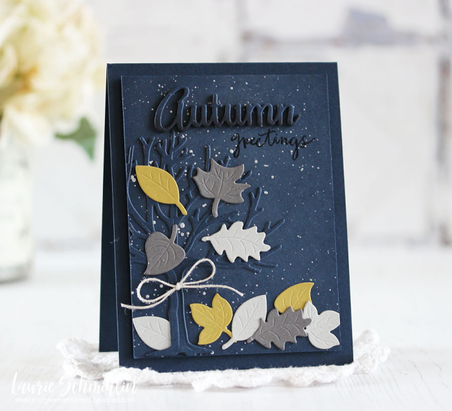 Spellbinders - Autumn Greetings by Laurie Schmidlin
