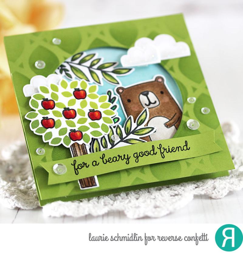Beary Good Friend (detail) by Laurie Schmidlin