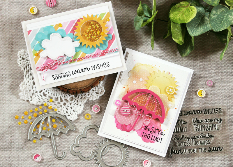 Spring Shaker Cards by Laurie Schmidlin
