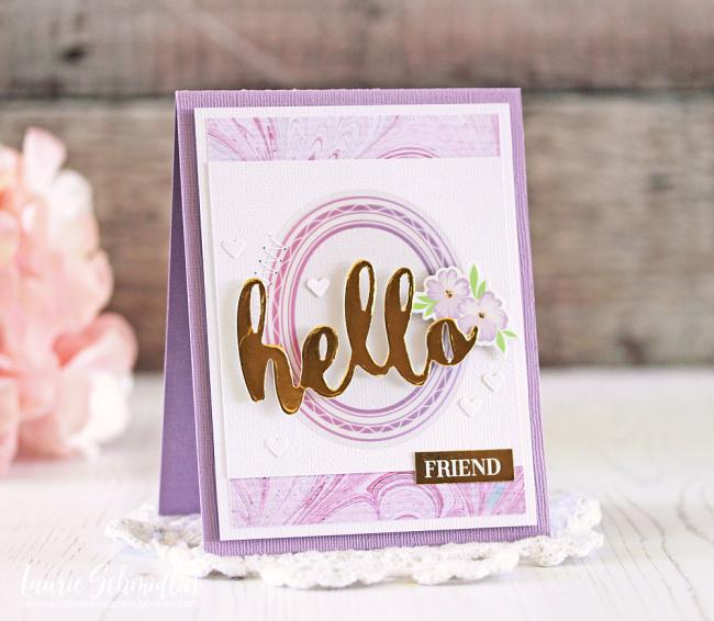Hello Friend by Laurie Schmidlin