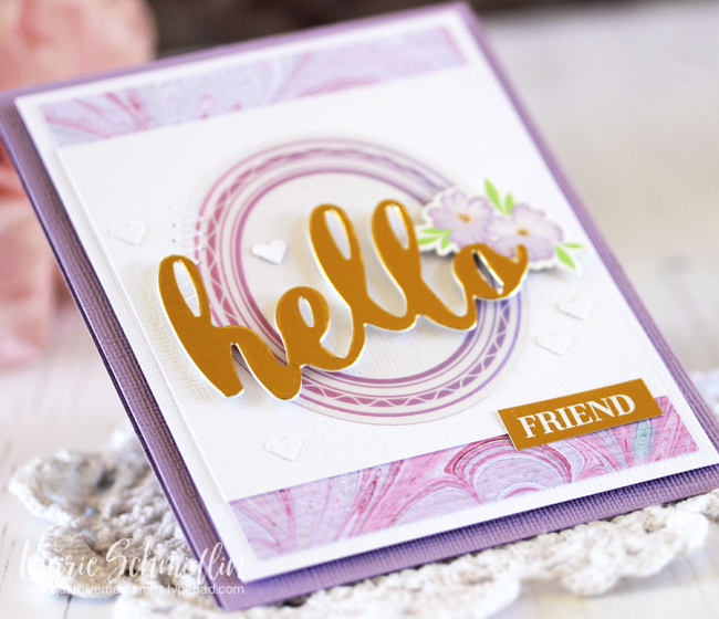Hello Friend (detail) by Laurie Schmidlin