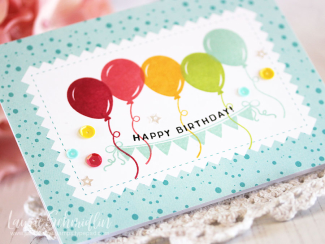 Simple Impressions Birthday by Laurie Schmidlin
