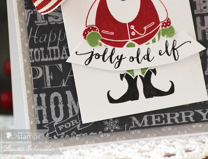 Jolly Old Elf (Detail) by Laurie Schmidlin