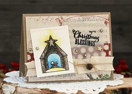 Christmas Blessings by Laurie Schmidlin