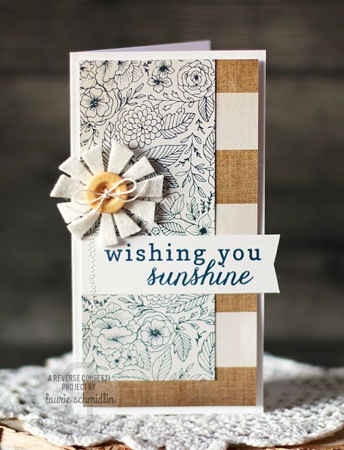 Wishing You Sunshine by Laurie Schmidlin