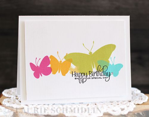 Butterfly Birthday by Laurie Schmidlin